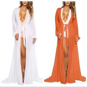 Other - Women Swimsuit Swim 👙🏖 Beach Maxi Cover Up Dress